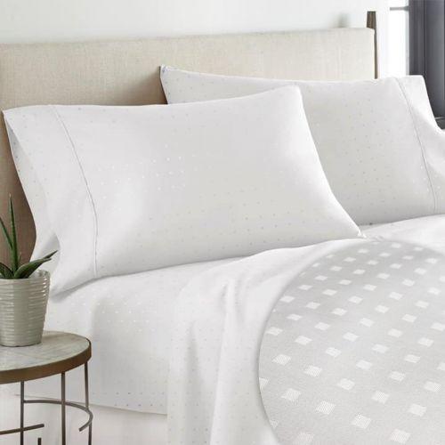 Pizuna 600 Thread Count Cotton Damask Pillowcases