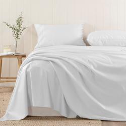 Pizuna 400 Thread Count Cotton Flat Sheet