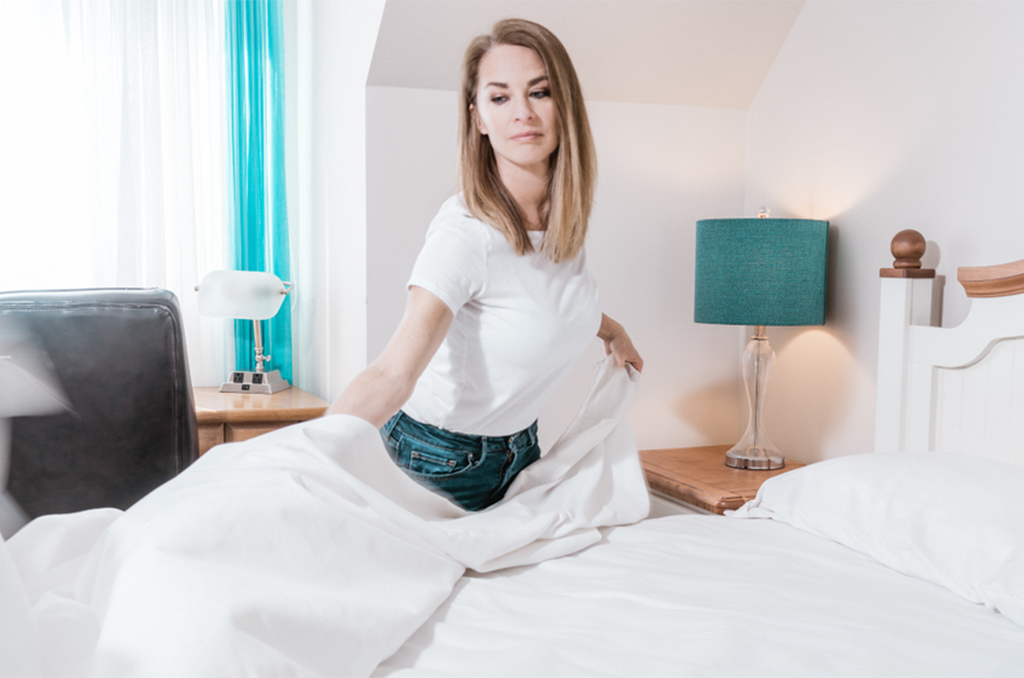 Reason, you should make your bed everyday