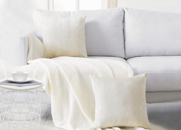 Cotton Cushion Cover On Sofa